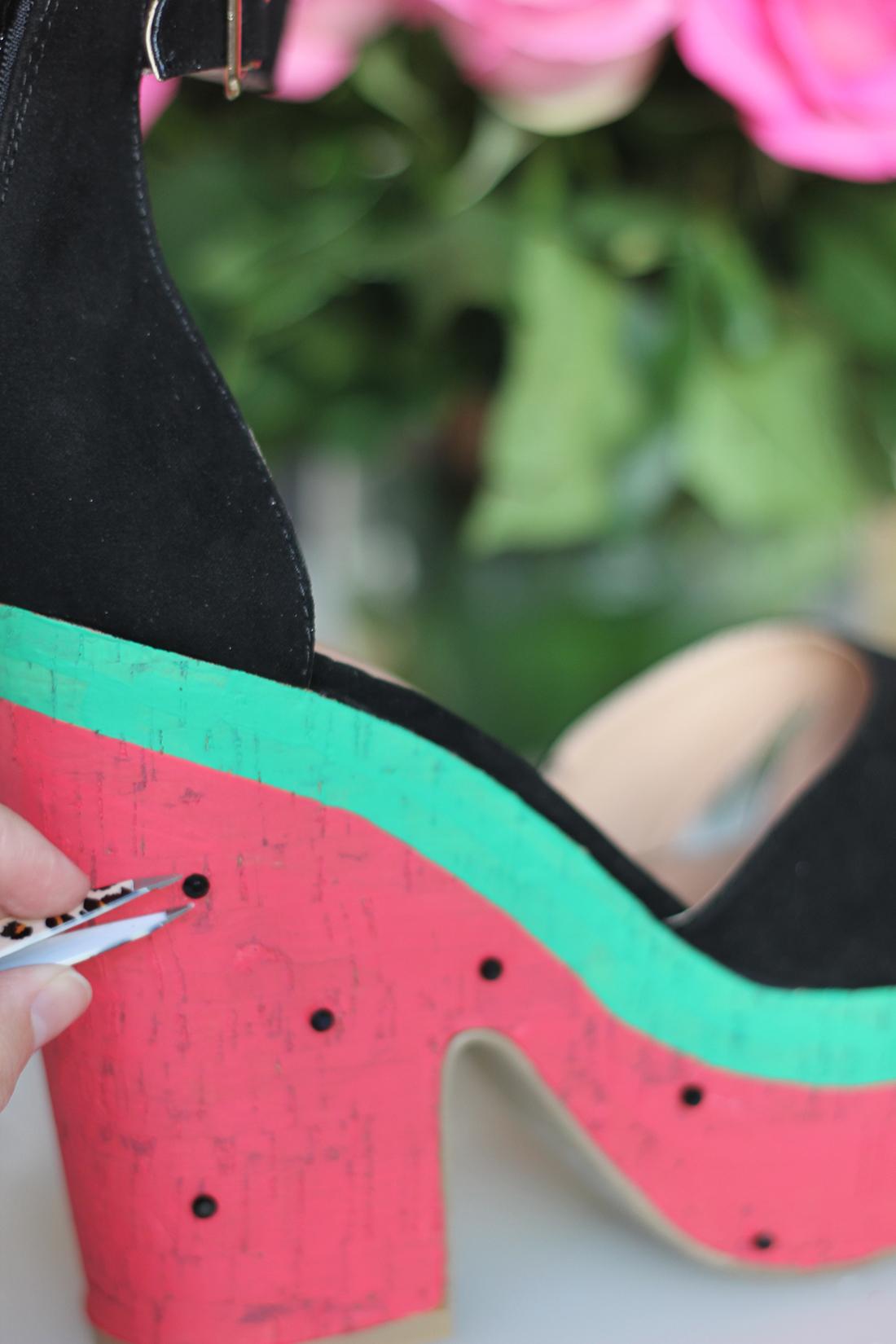 DIY Watermelon Wedges | HomemadeBanana
