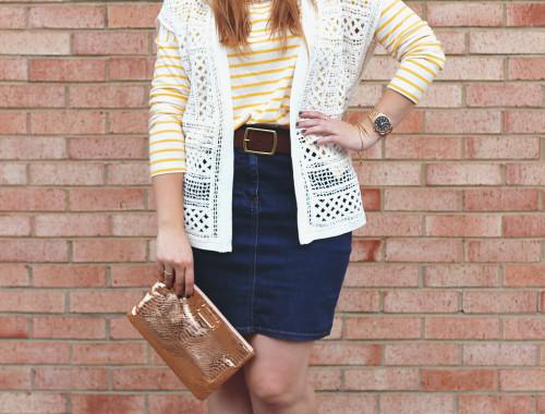 yellow-striped-shirt-denim-skirt-6