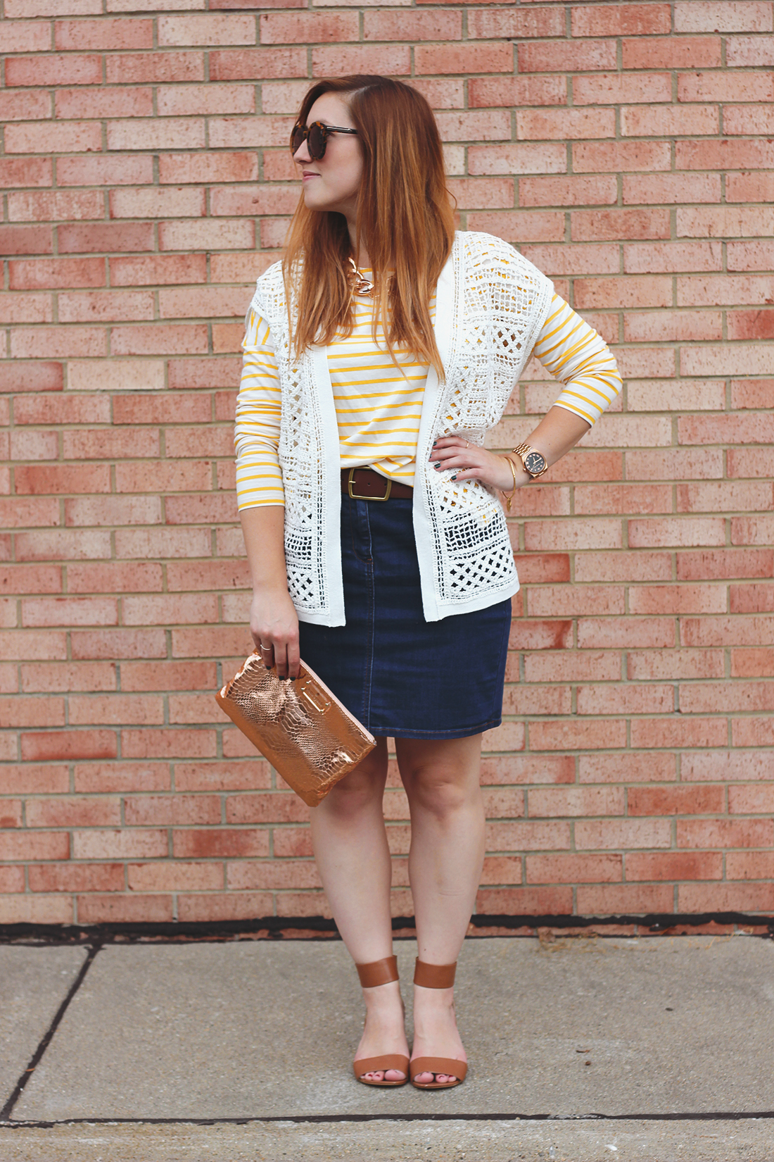 yellow-striped-shirt-denim-skirt-7