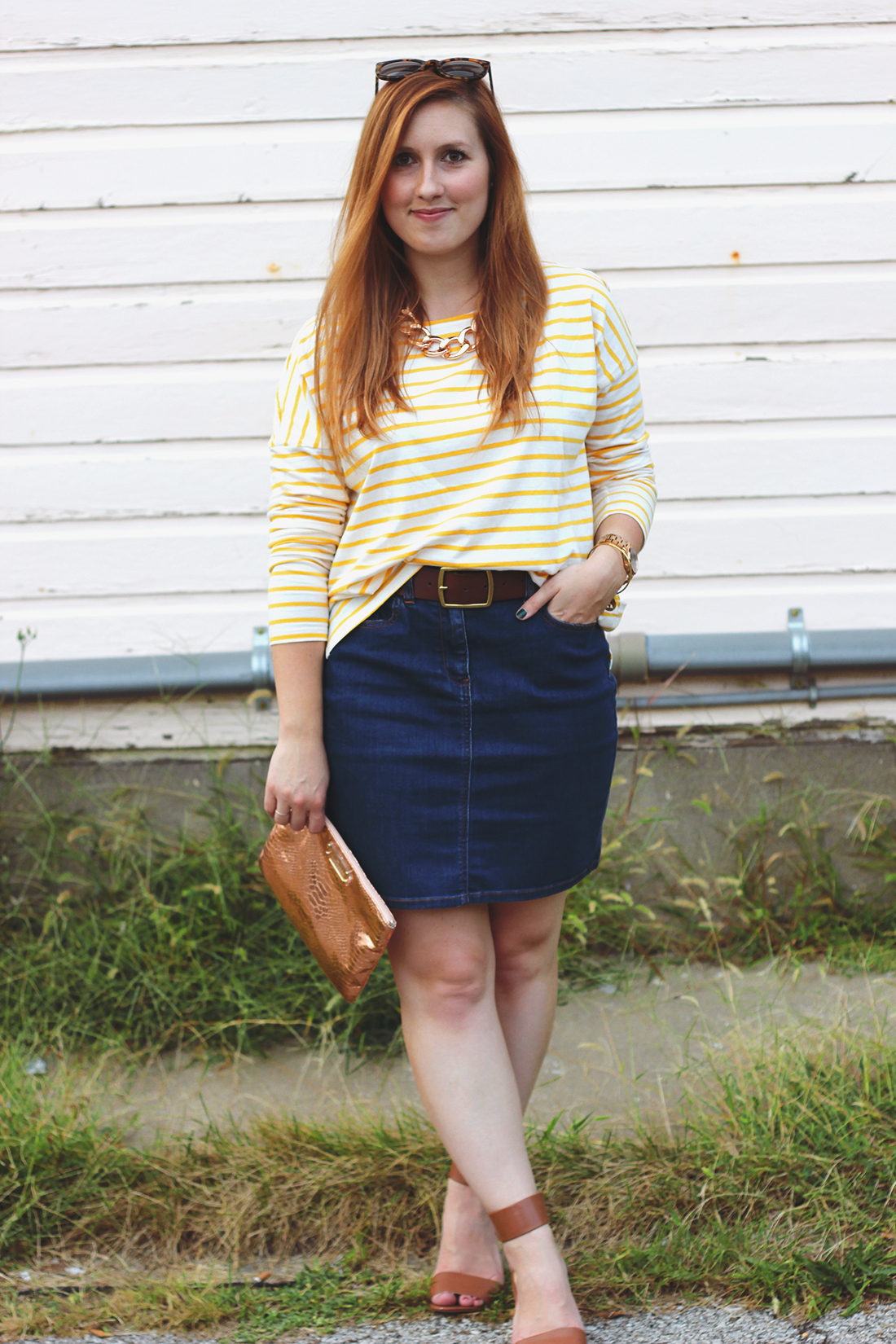 yellow-striped-shirt-denim-skirt-8