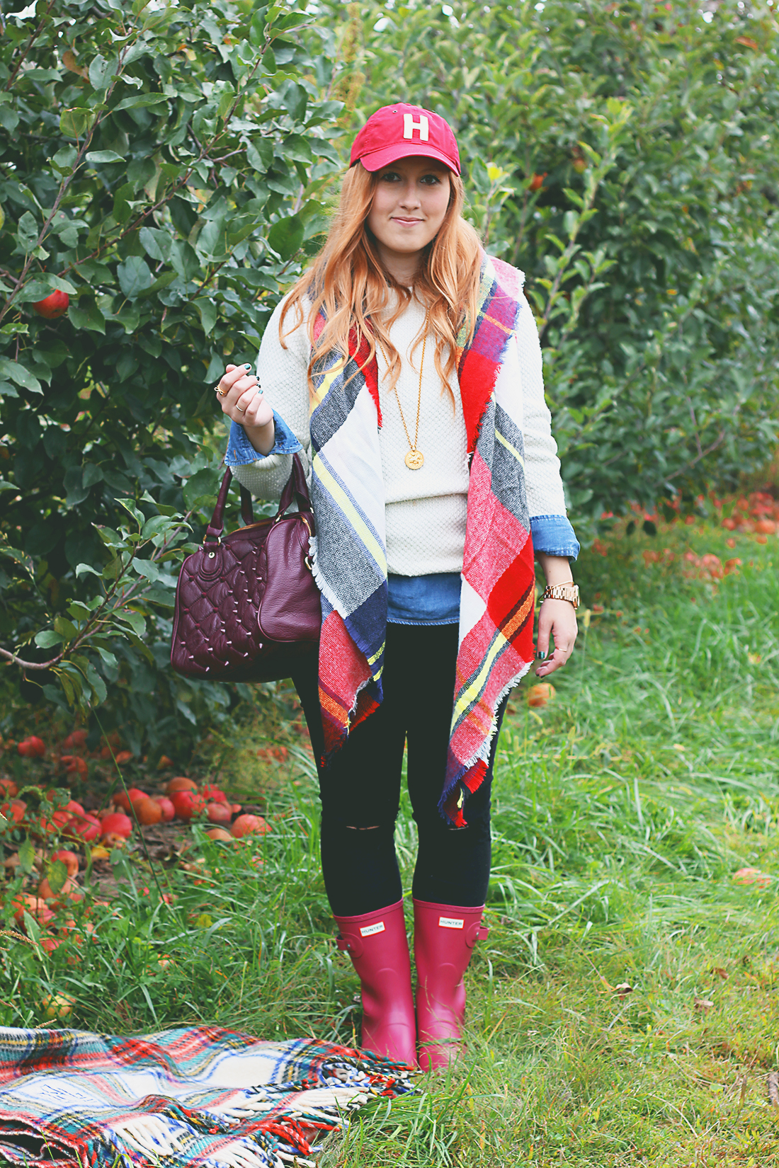 Wear to what apple picking