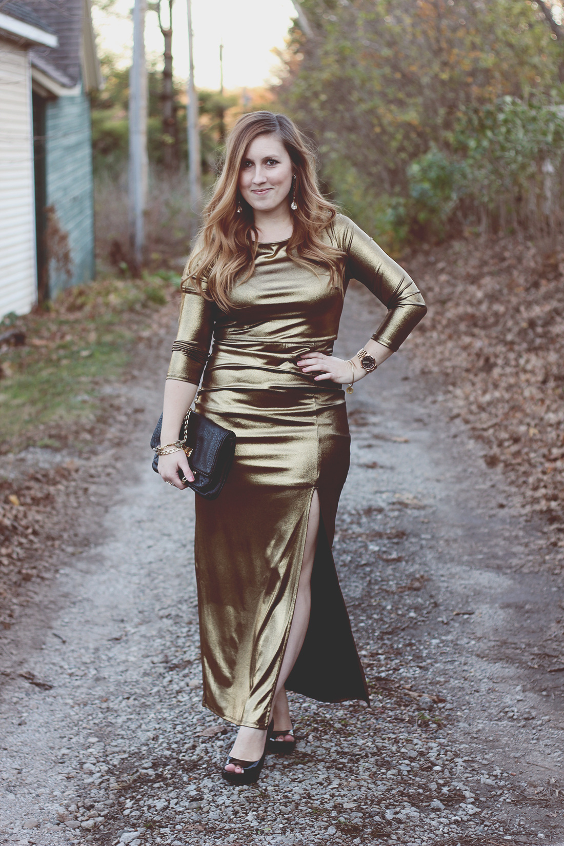 gold-maxi-dress-movie-premier-holiday-outfit-2