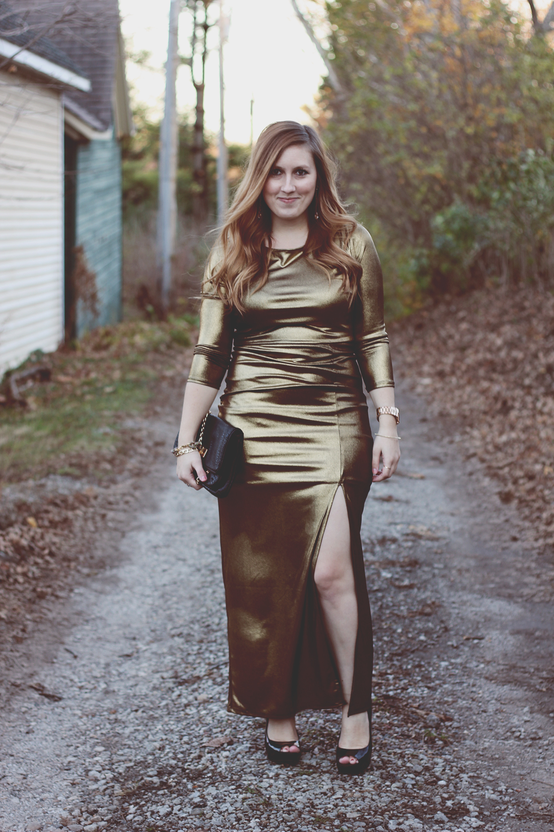 gold-maxi-dress-movie-premier-holiday-outfit-5