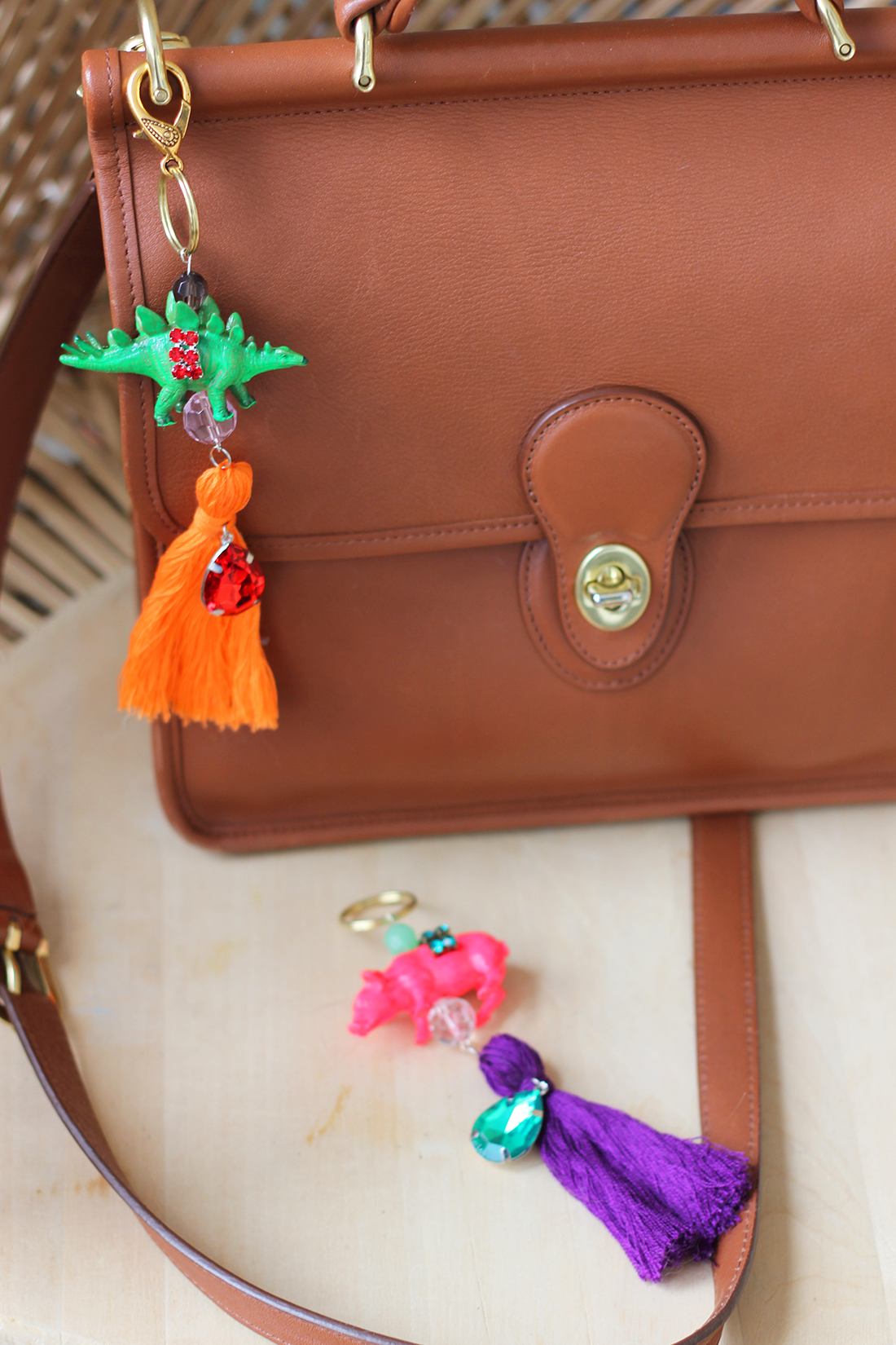 diy discount  colorful bag charms