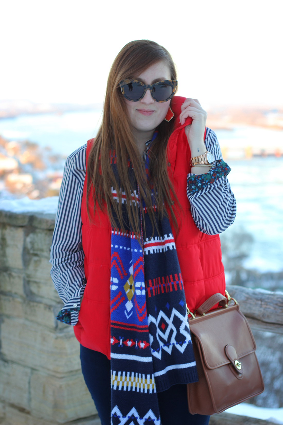 fair-isle-knit-scarf-puffy-vest-shearling-4