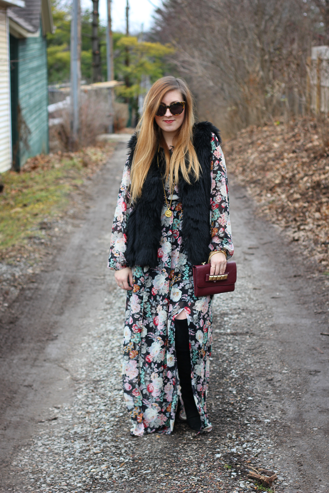faux-fur-vest-floral-maxi-dress-otk-boots-2