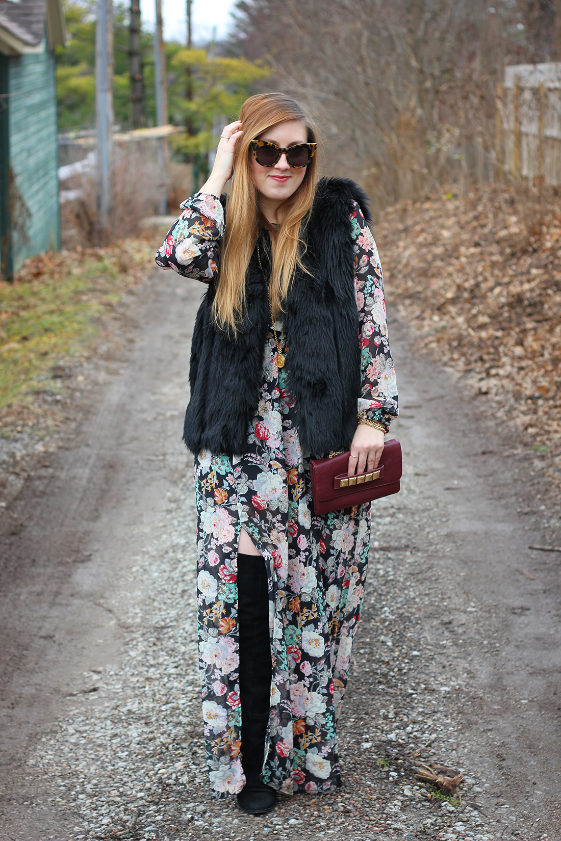 faux-fur-vest-floral-maxi-dress-otk-boots-5
