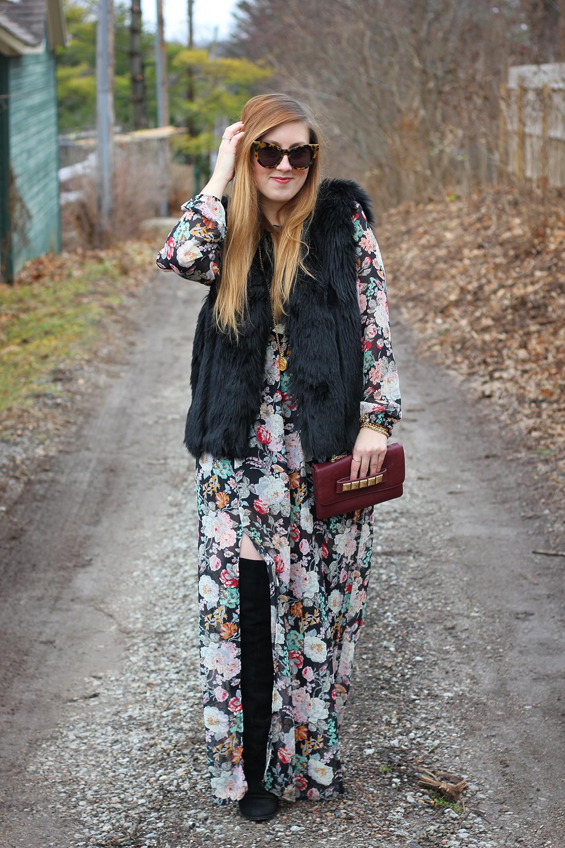 faux-fur-vest-floral-maxi-dress-otk-boots-5