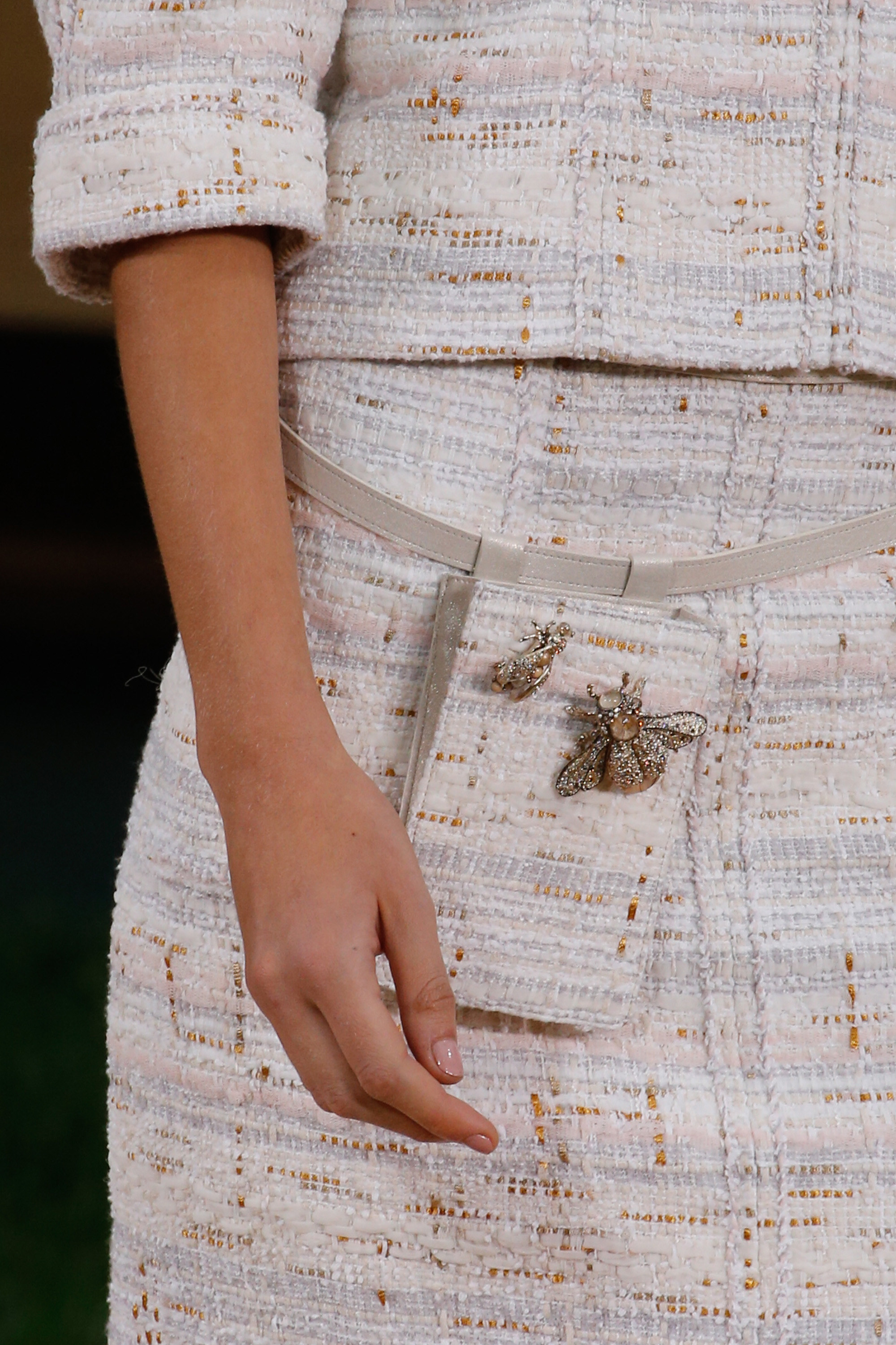 Homemade Banana // Chanel Couture Bug Embellishments