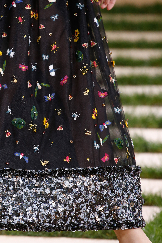 Homemade Banana // Chanel Couture Bug Embellishments