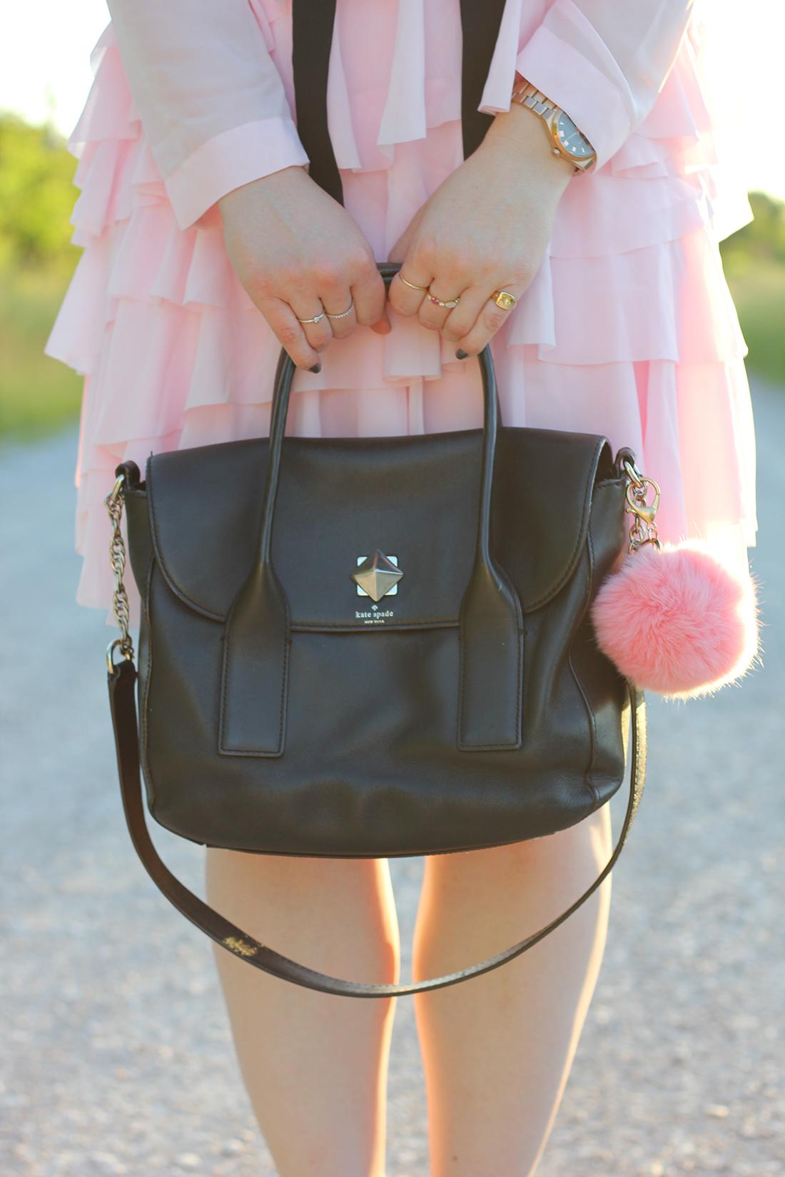 pink-ruffle-dress-skinny-scarf-6