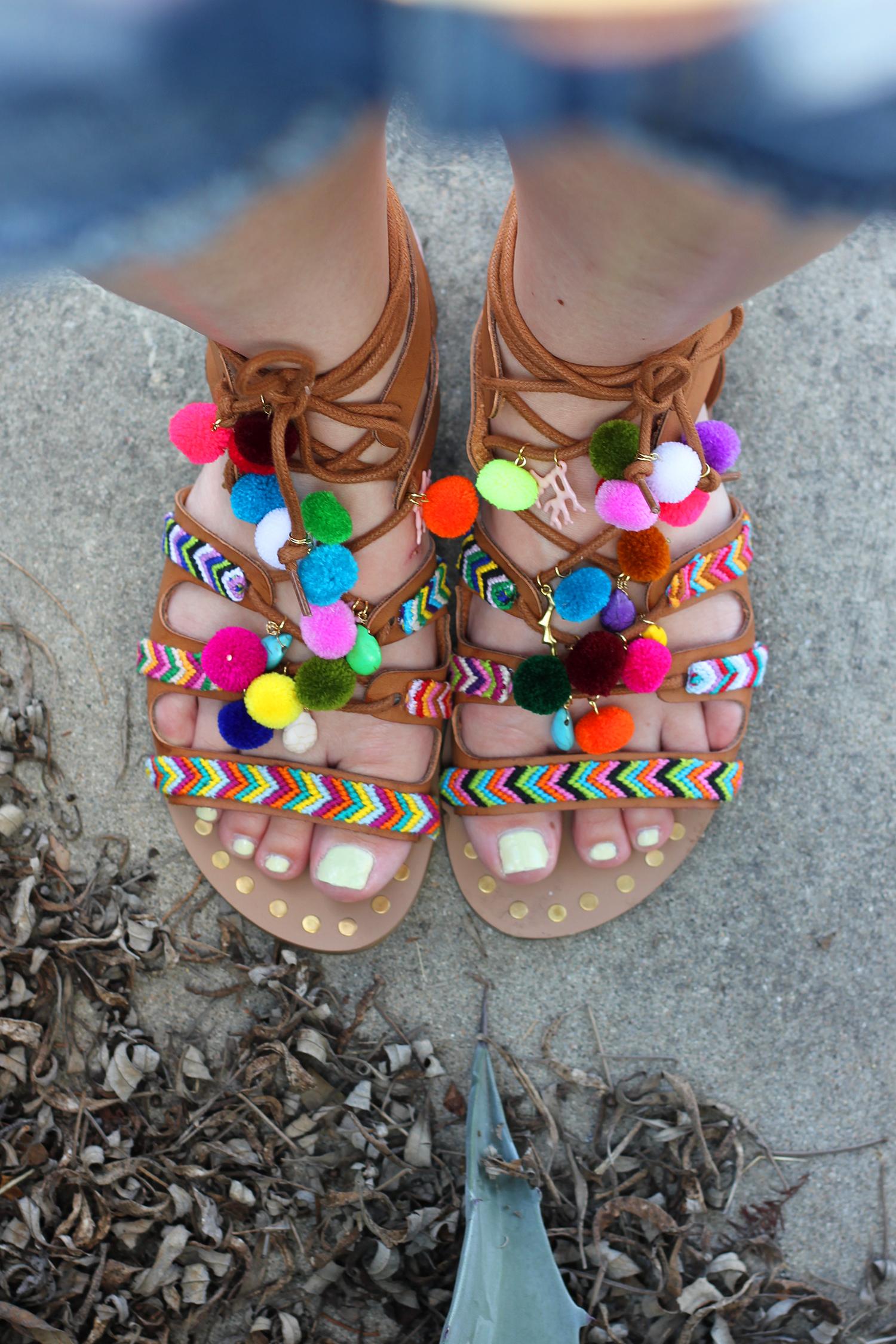 diy-pom-pom-sandals-7