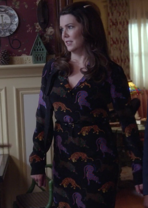 Gilmore Girls: A Year in the Life Lorelai Animal Print Shirtdress Stella McCartney