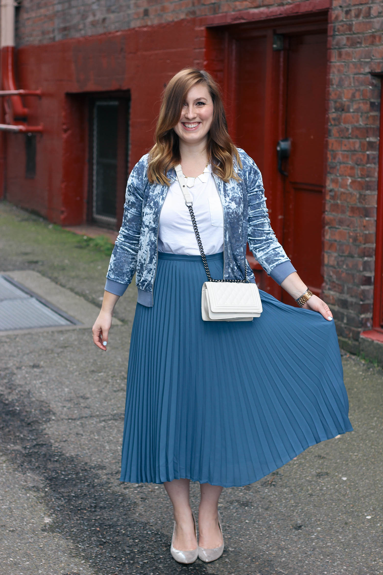 velvet-bomber-pleated-midi-skirt-5