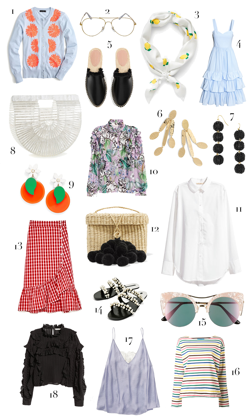18 pretty spring pieces I can't wait to get my hands on!