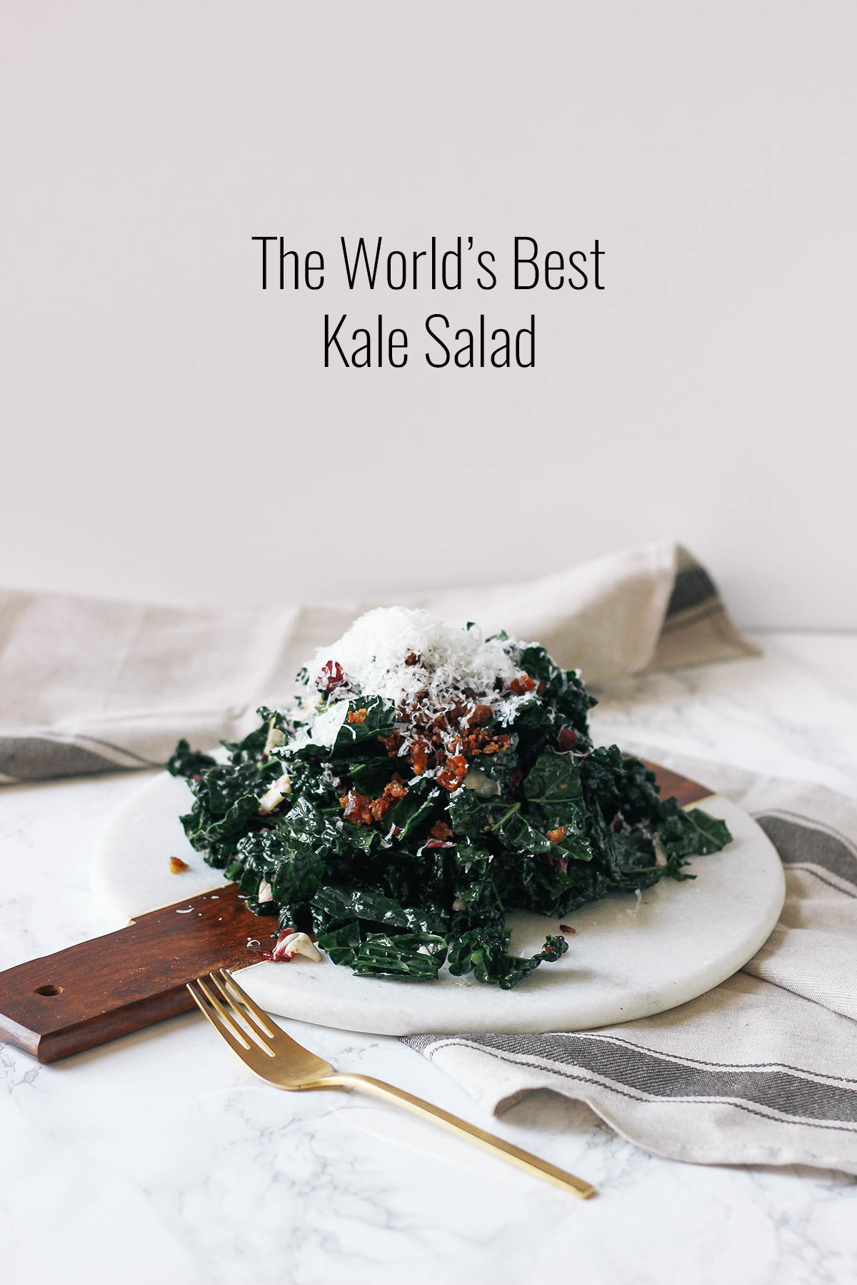 Get the recipe for the world's best kale salad, inspired by Darwin Cafe in San Francisco.