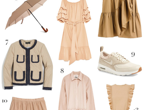 Forget everything you thought you knew about khaki—this new trend is anything but boring.