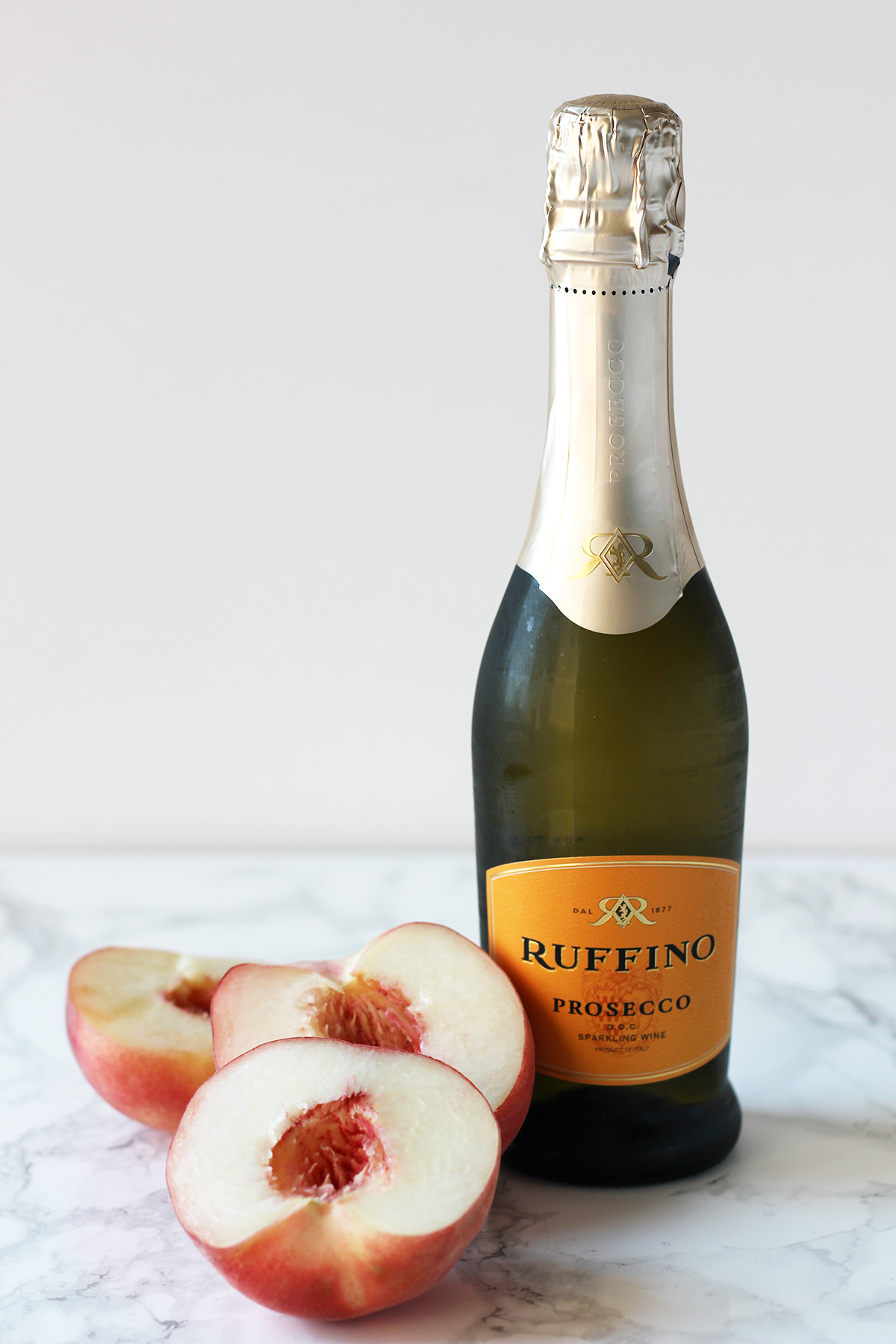Take advantage of peach season with this frozen take on the classic bellini.